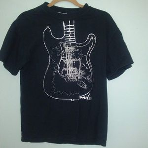 Fender Black T-shirt Men's size Medium.
